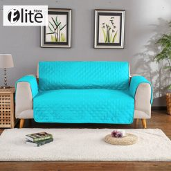 Ferozy Quilted Sofa Cover
